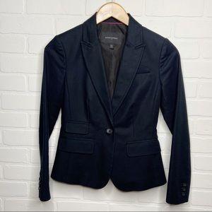 Banana Republic factory blazer 00P petites black